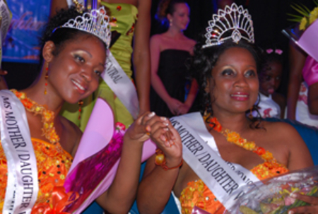 Mothers, daughters crowned