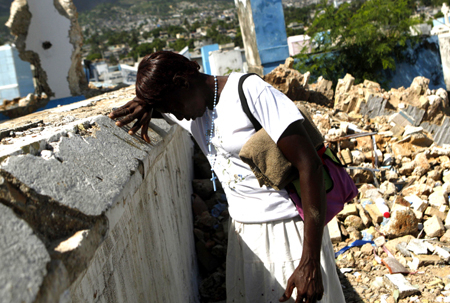 Haiti – in the eye of the storm