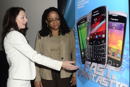 BlackBerry 'leading' the smartphone charge