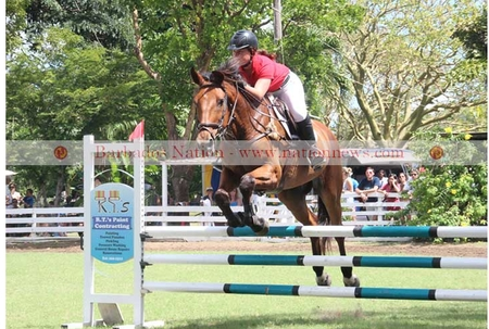 Trinidad get better of Bajans in jumping