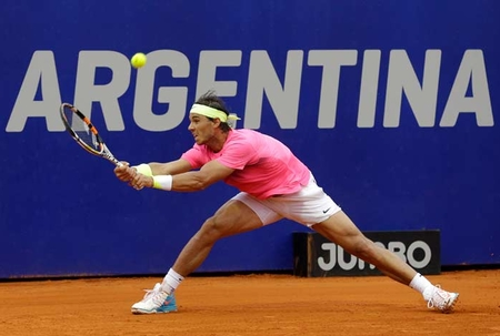 Nadal wins 65th singles title in Argentina