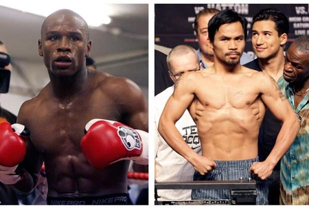 Ticket prices hot for Mayweather/Pacquiao fight