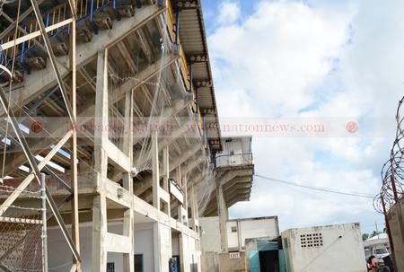 Stadium stands closed to public