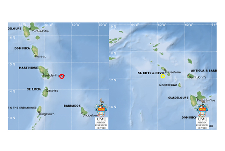 Two more earthquakes today