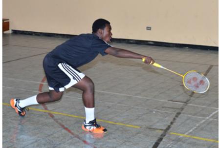 Senior Badminton Results: Night 3