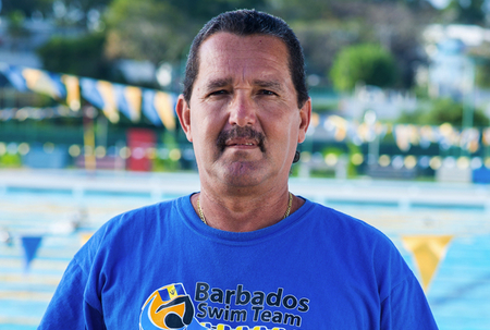 Swimming coach satisfied with Day 1 performance