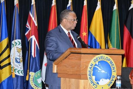 Jamaica now chair of Caribbean Development Bank