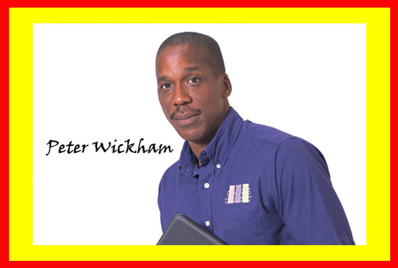 PETER WICKHAM: Well done, St Kitts!