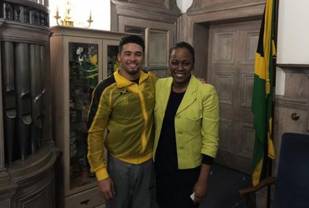 Jamaican gymnast aiming for Olympics