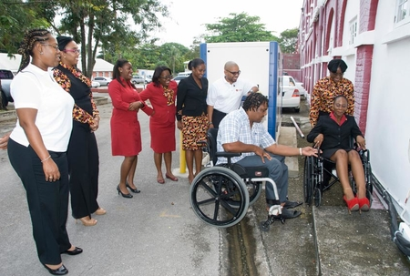 CIBC FirstCaribbean staff benefit from disability awareness training
