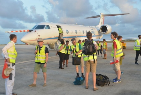 Research aircraft to study climate change