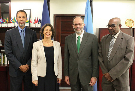 EU wants to advance common agenda with CARICOM in global fora