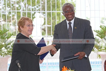 Barbados and Chile to strengthen relationship