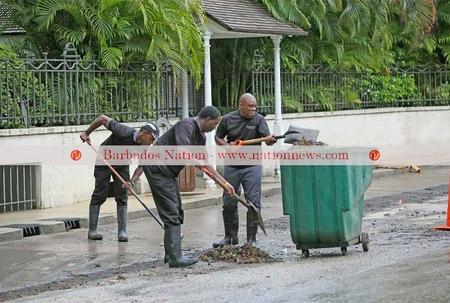 Dumpers blamed in flooding