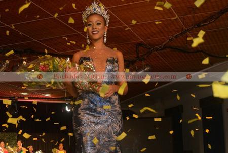 Lesley Chapman-Andrews is Miss Universe Barbados 2017