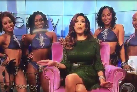 Barbadian dance group appears on Wendy Williams Show
