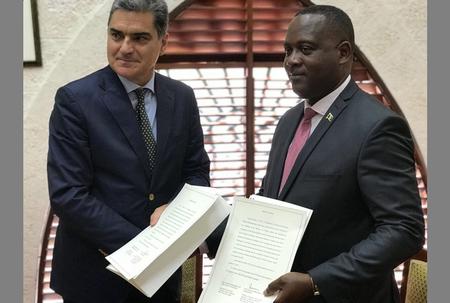 Barbados/Italian Republic DTAenters into force