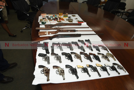 32 guns turned in during amnesty
