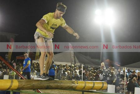 Ninja Rayl conquers Throwdown