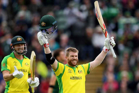 David Warner hits century as Australia beat Pakistan