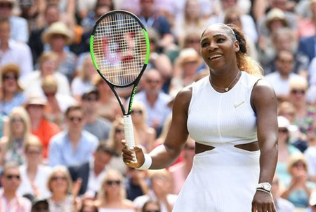 Serena Williams beats Barbora Strycova to reach Wimbledon final