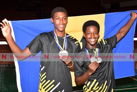 Bajan duo take U-19 gold