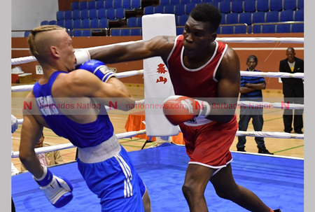 Canada lending boxing hand