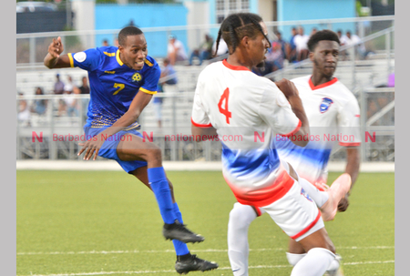 Tridents take victory over Saint Martin