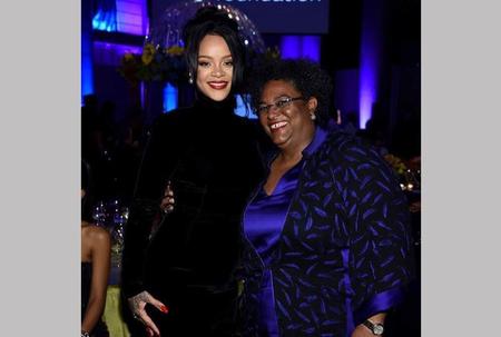 RiRi honours Mia at Diamond affair