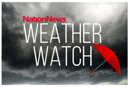 More showers and high swells expected