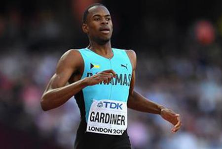 Gardiner wins gold in men's 400m