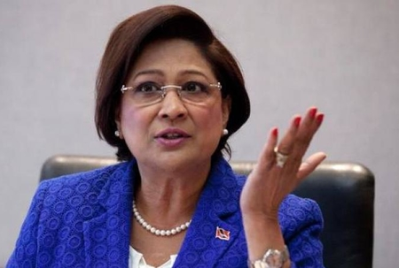 Kamla dismisses allegations of plots to assassinate government ministers