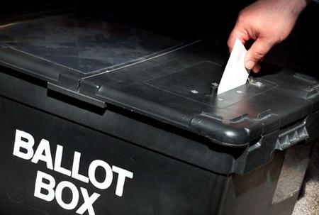 Election day in Montserrat