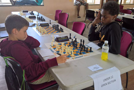 Perfect record for chess champs