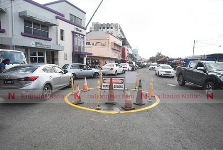 Traffic changes for City demolition