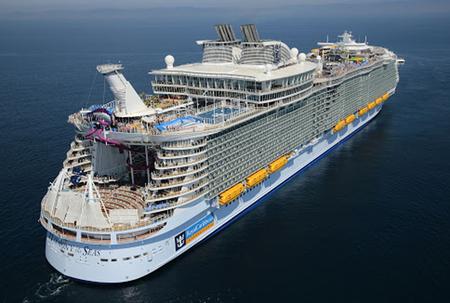 Cruise ship bringing in over 4 000 crew