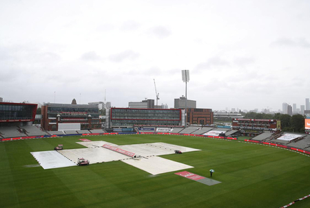 Some rain predicted for test match Tuesday