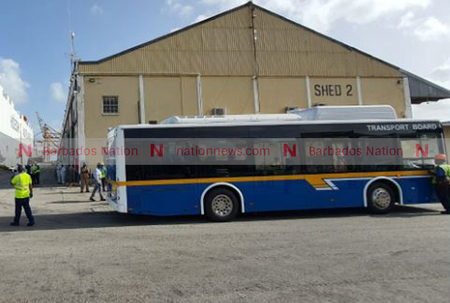33 electric buses arrive in Barbados