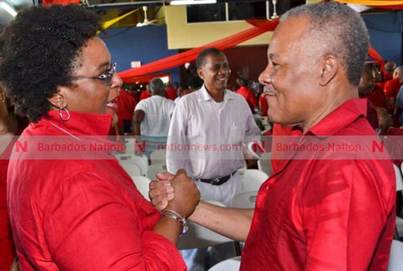 Mottley pays tribute to Arthur