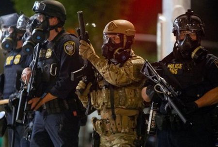 Portland mayor repeats call for Federal troops to leave