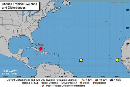 Bahamas bracing for Hurricane Isaias