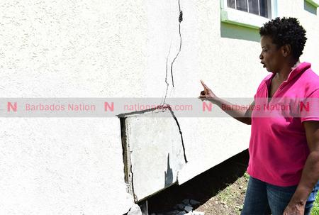 Homeowner unsettled over widening cracks
