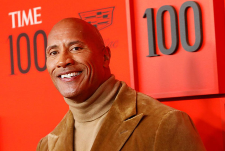 The Rock is highest paid male actor