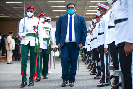 Ali outlines vision for Guyana at inauguration