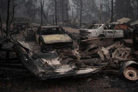 Wildfires ravage Pacific Northwest