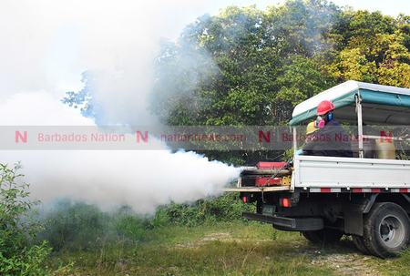 Fogging Schedule April 12-16, 2021