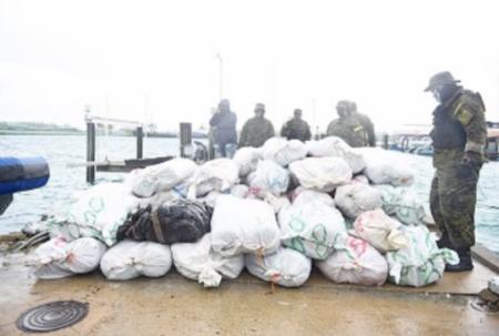 Bahamas, US make major drug bust