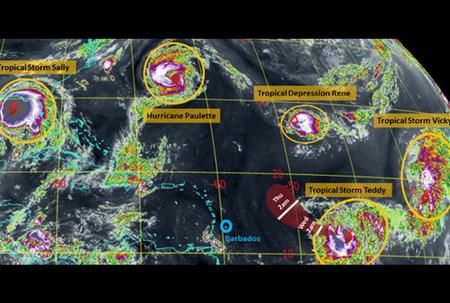 Met Office: Busy Atlantic Basin, but no threat