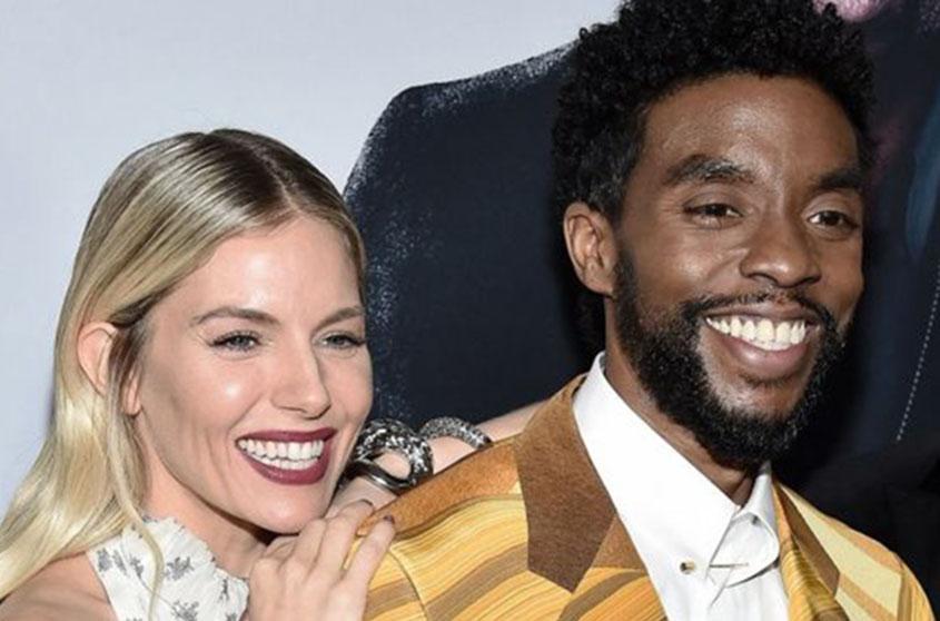 Sienna Miller: Boseman shared 21 Bridges salary