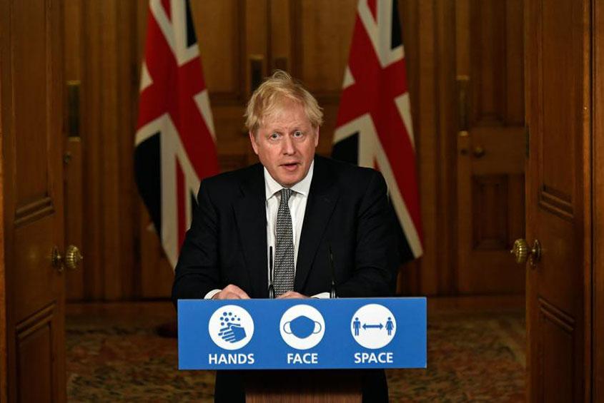Britain going back under lockdown
